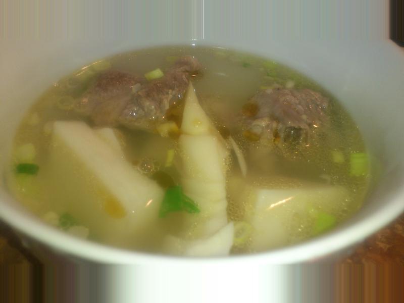 細兒<3 竹筍排骨湯