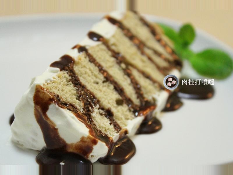 【肉桂打噴嚏】巧克力奶油咖啡戚風蛋糕