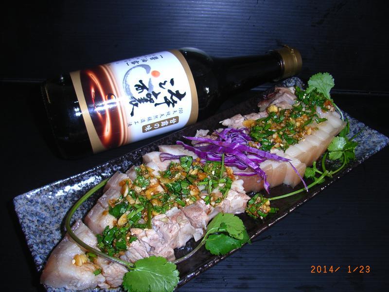 台式蒜泥白肉 [淬釀年菜料理]
