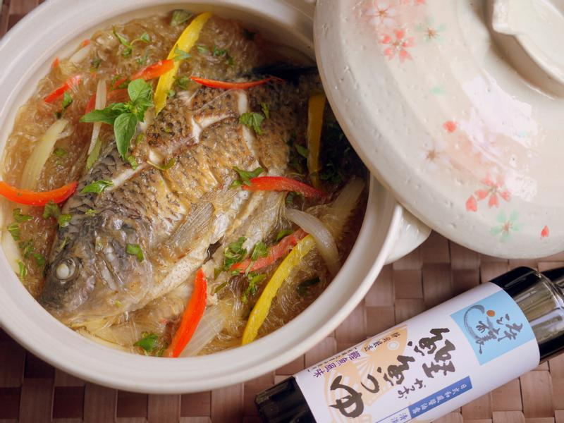 醬燒吳郭魚粉絲煲-淬釀節氣食譜