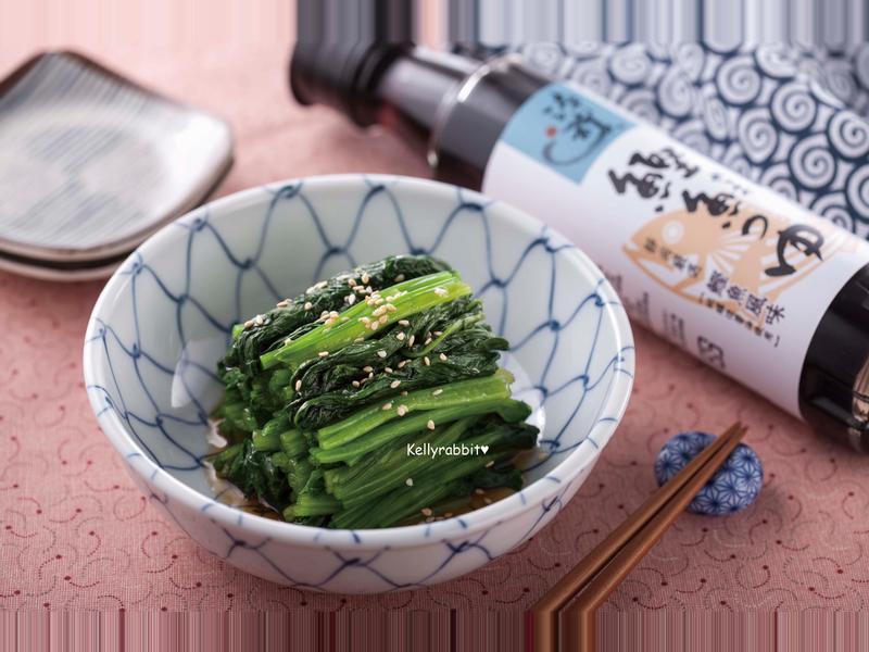 日式涼拌菠菜~淬釀日式下午茶點