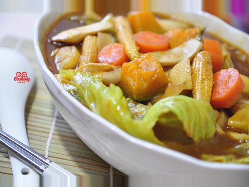 【牛頭牌咖哩塊】咖哩鮮蔬湯