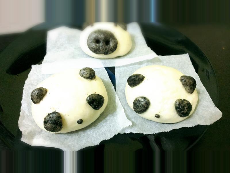 貓熊豆沙包