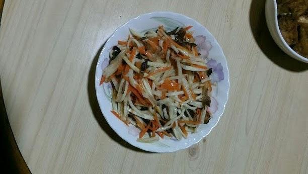醋炒筊白筍