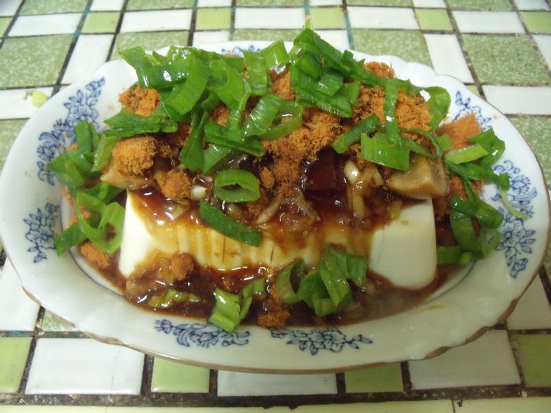 肉鬆皮蛋豆腐