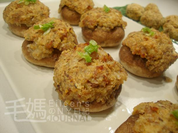焗釀蘑菇 Stuffed Mushrooms