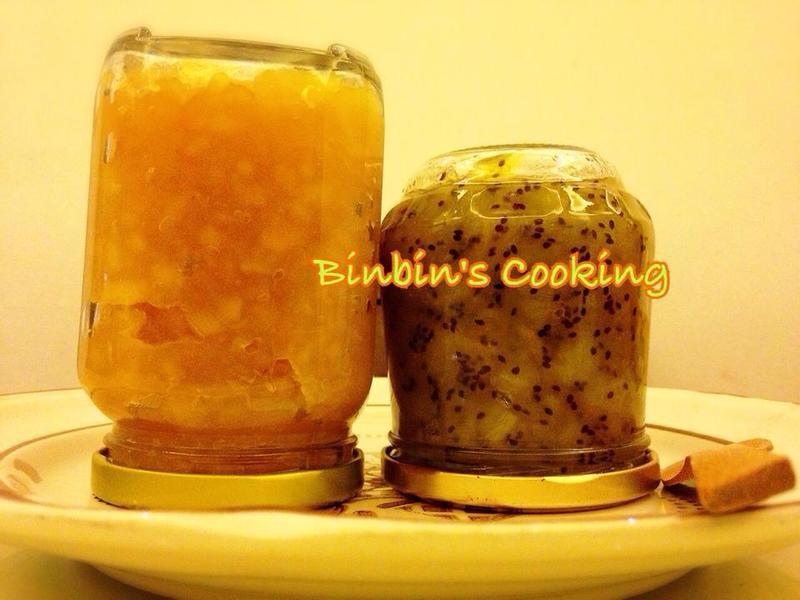 蘋果果醬&奇異果果醬
