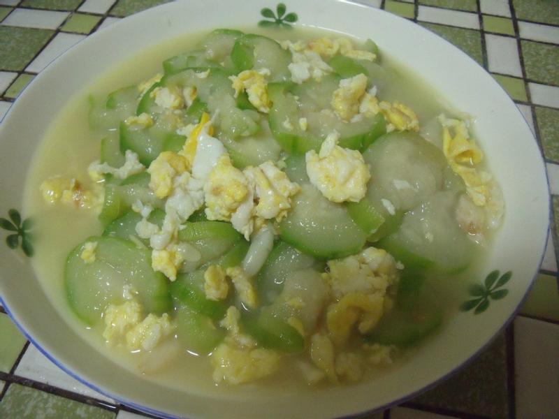 簡單好吃的絲瓜炒蛋