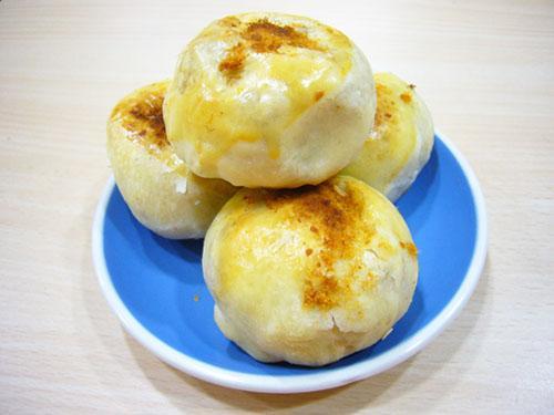 椰子油蛋黃酥/芋鬆酥