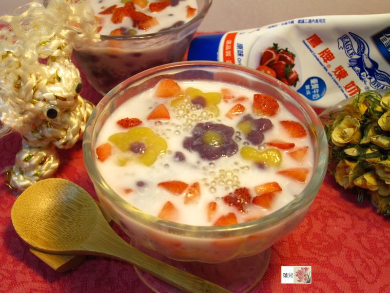 煉乳草莓甜湯【草莓就愛鷹牌煉奶】