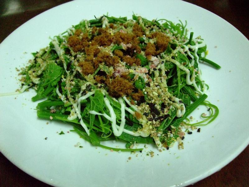 龍鬚菜沙拉