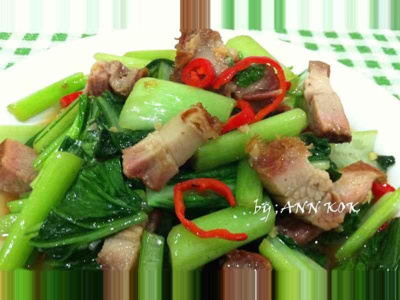 ★燒肉炒青菜★