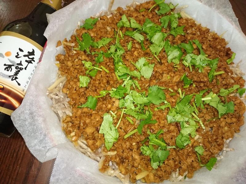 鮑菇芋粿~淬釀年菜料理