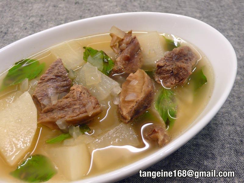越式牛肉湯  *燉牛肉4