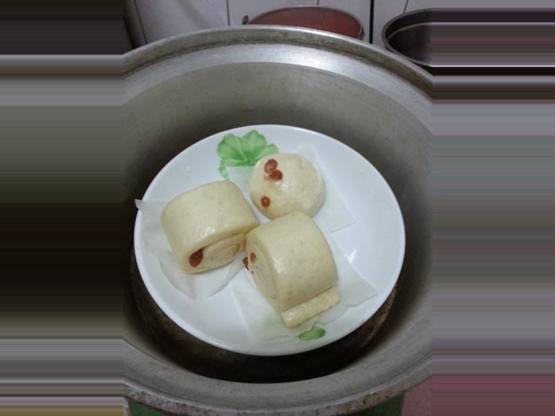 豆漿葡萄乾饅頭