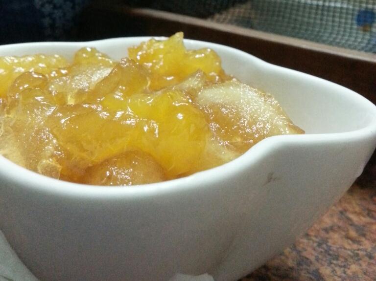 蘋果橘子果醬