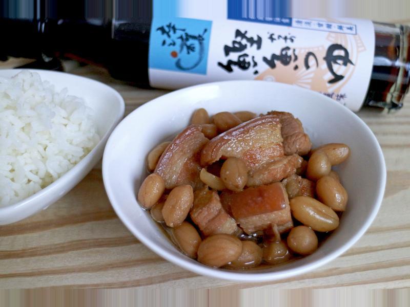 花生滷肉『淬釀日式下午茶點』