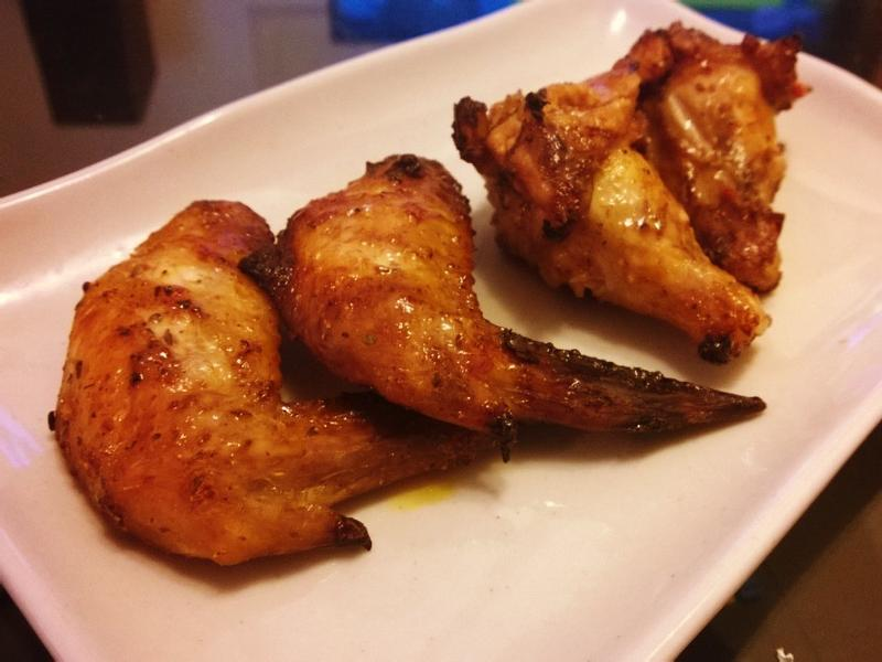 香辣烤雞翅