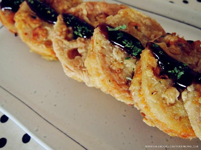 金瓜莲藕三明治