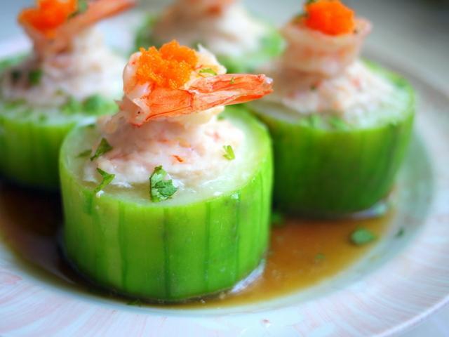 清蒸海味絲瓜盅-淬釀節氣食譜