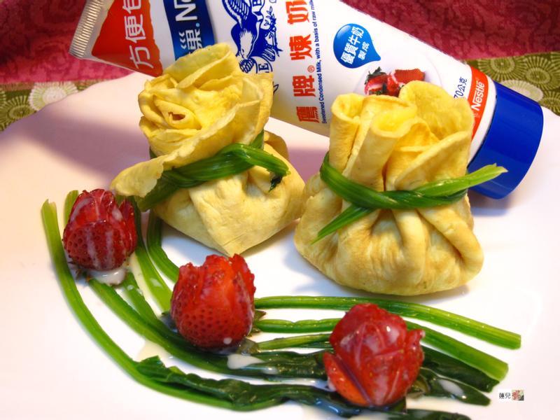 福袋(幸福滿滿)【草莓就愛鷹牌煉奶】