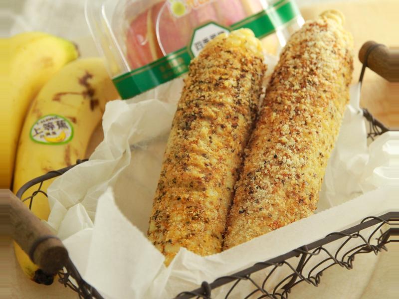 美式芝士香料烤玉米 [小七食堂]