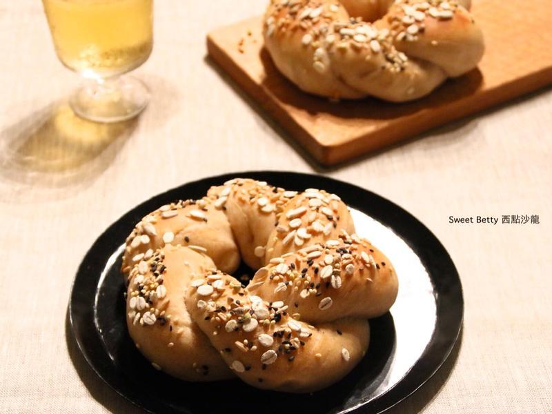 全麥綜合穀粒麵包