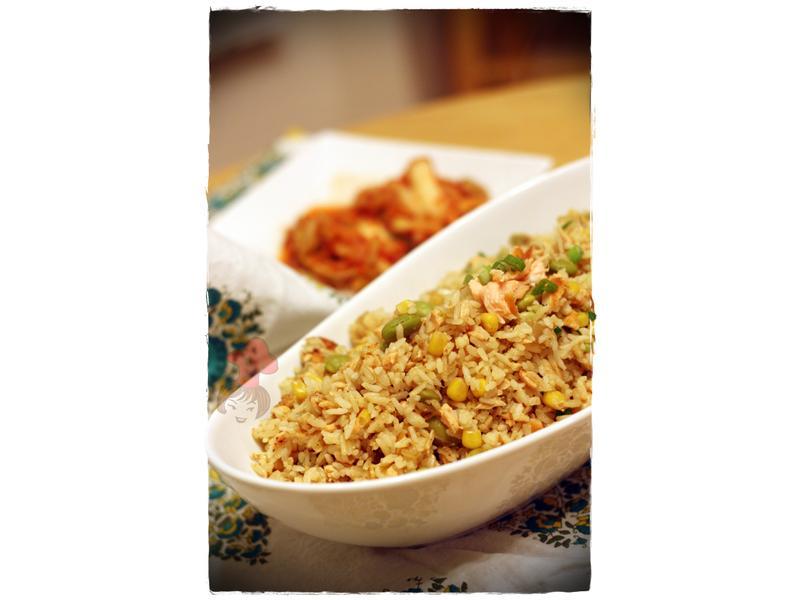 黃金鮭魚蛋炒飯 Salmon Fried Rice