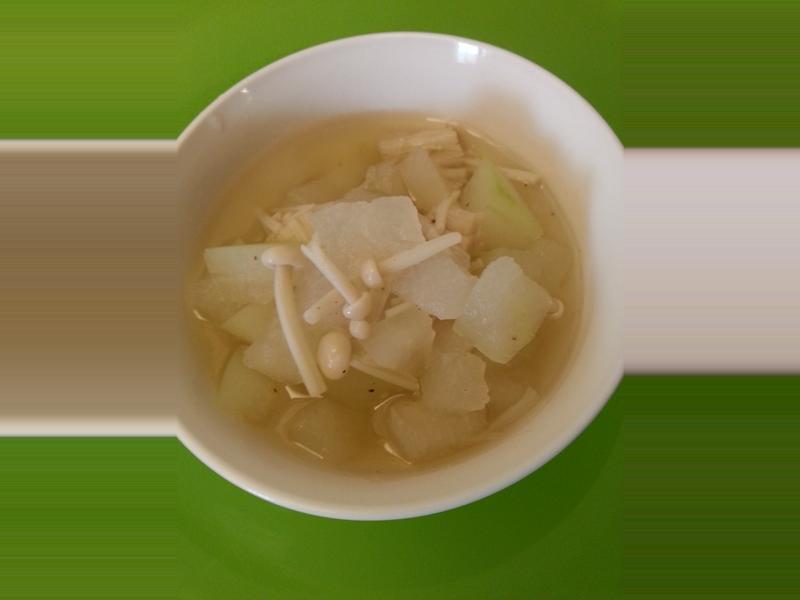 冬瓜金針菇湯