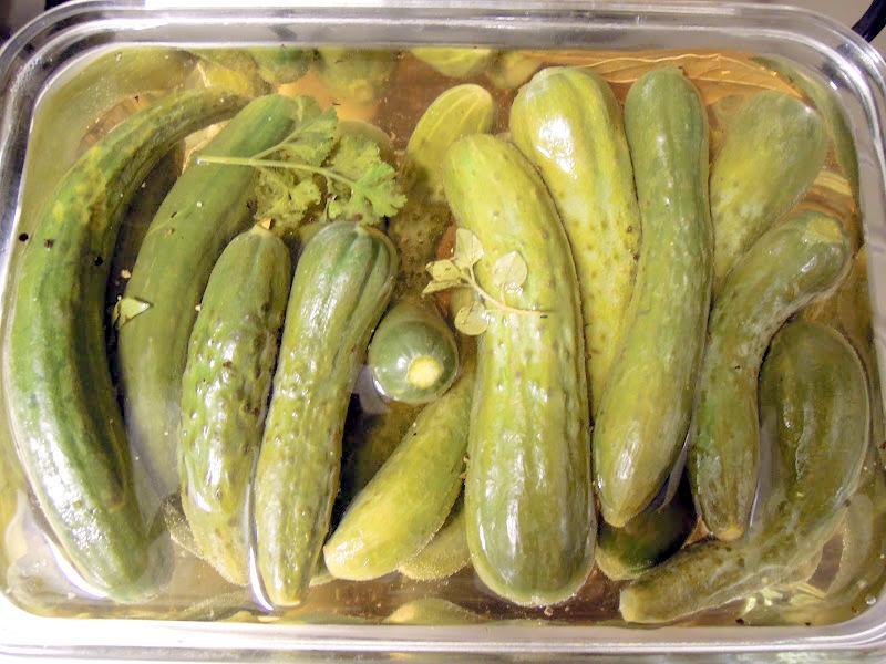 西式酸黃瓜(pickles)