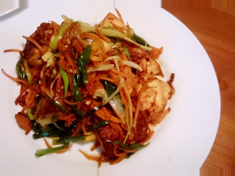 《餐桌故事》三絲燒雞蛋豆腐