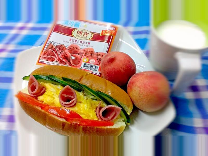 活力早餐 【博客慕尼黑原味火腿】