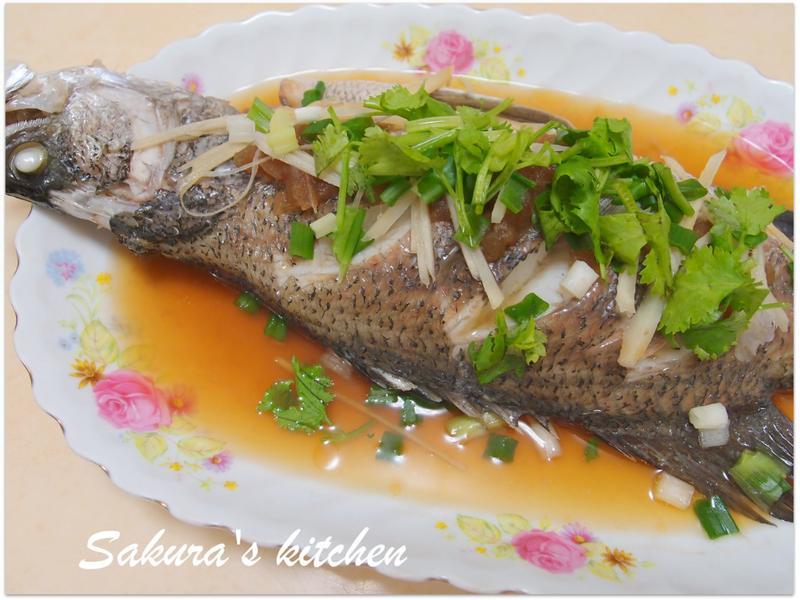 ♥我的手作料理♥鹹冬瓜鱸魚