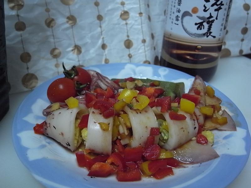 【淬釀中式下午茶點】彩椒鑲中卷