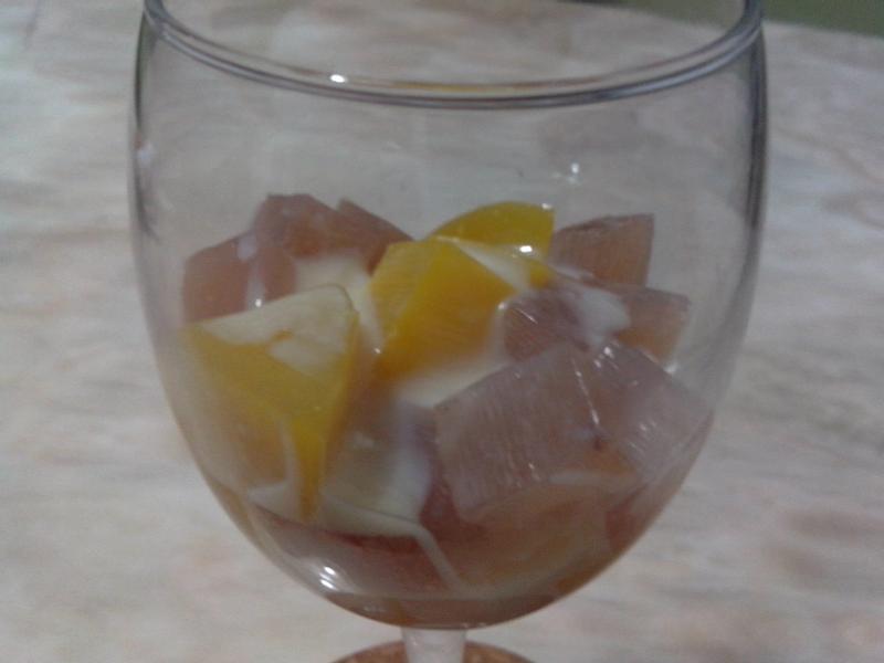 煉乳雙果凍