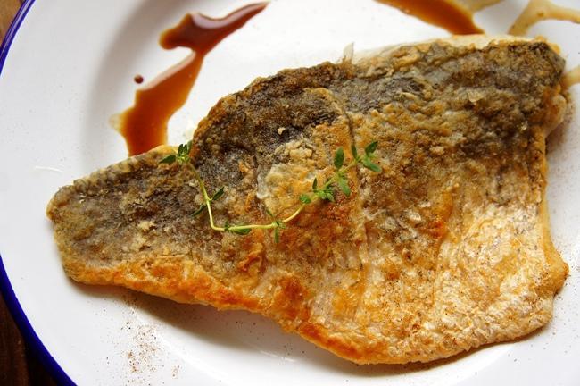 VIVI 香煎巴沙米可醋黃金尖吻鱸魚片