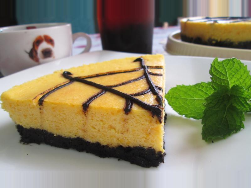 南瓜重起司蛋糕