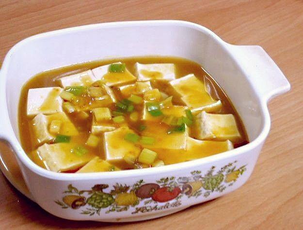 咖哩蔥豆腐