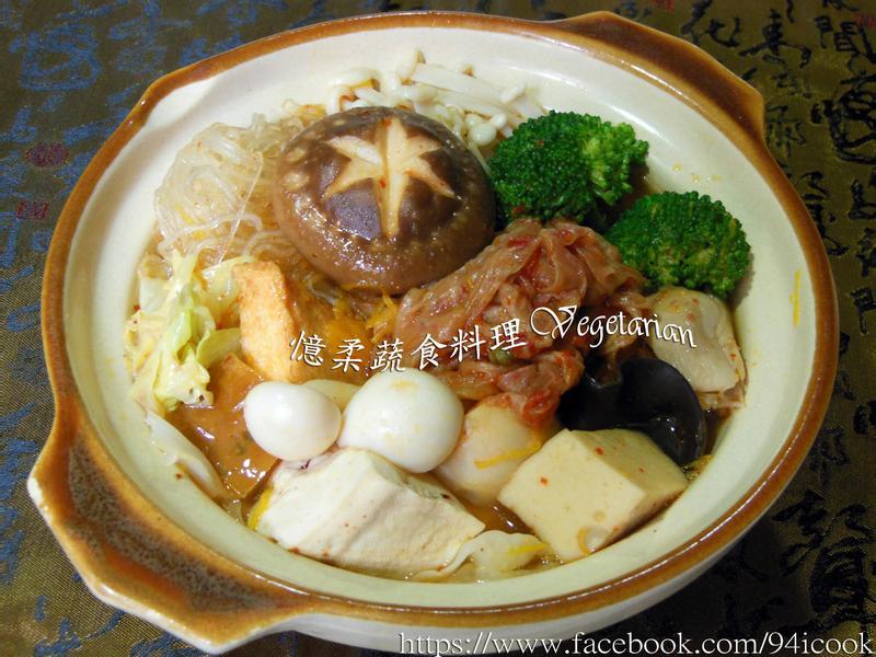 ♥憶柔蔬食♥韓式泡菜鍋