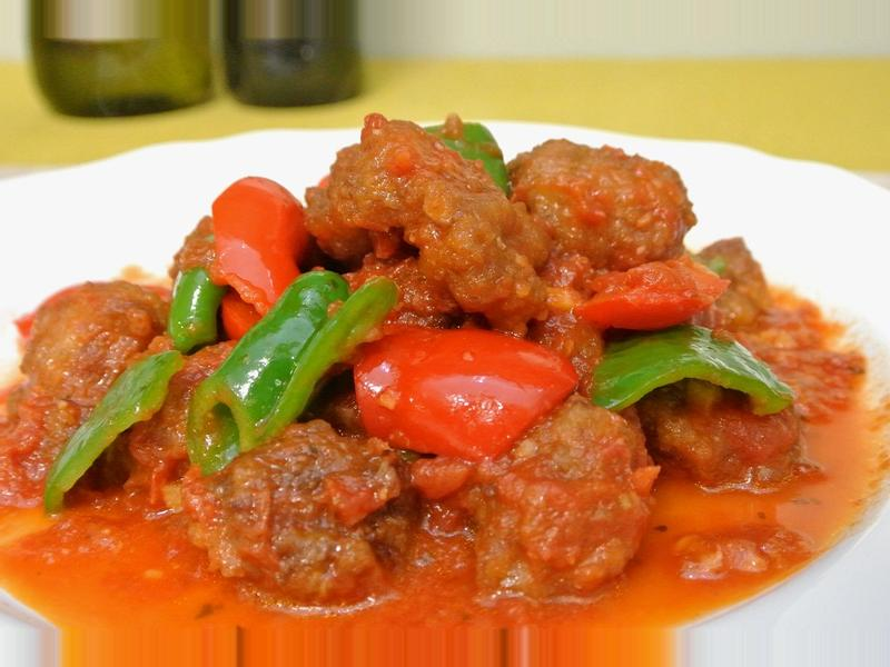 番茄紅醬咕咾肉
