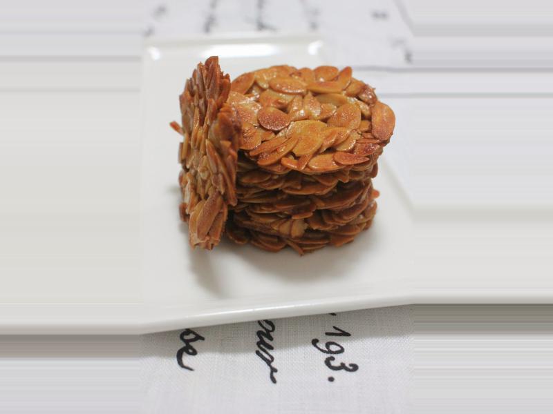 Almond tuiles 杏仁瓦片