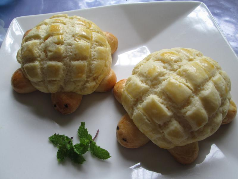 烏龜湯種波羅麵包