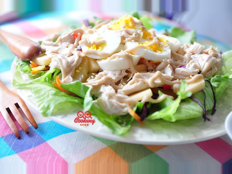 【頂好超市】陽光鮮蔬雞肉沙拉