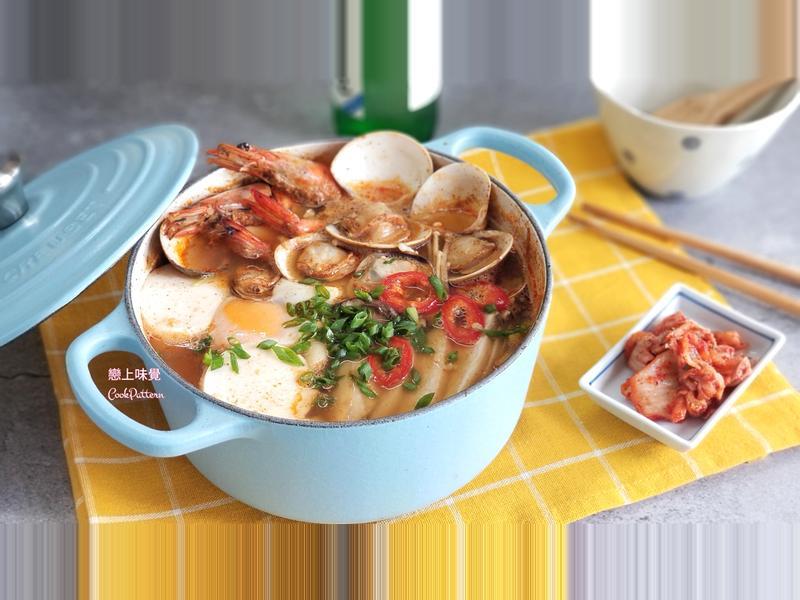 韓式辣海鮮嫩豆腐湯