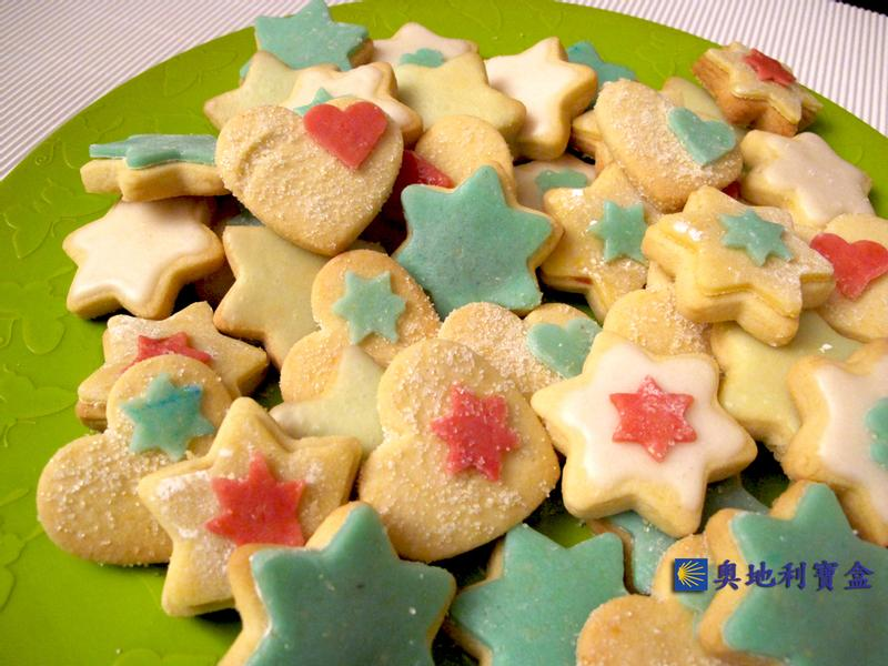 奶油餅乾-奧地利 聖誕節傳統美食