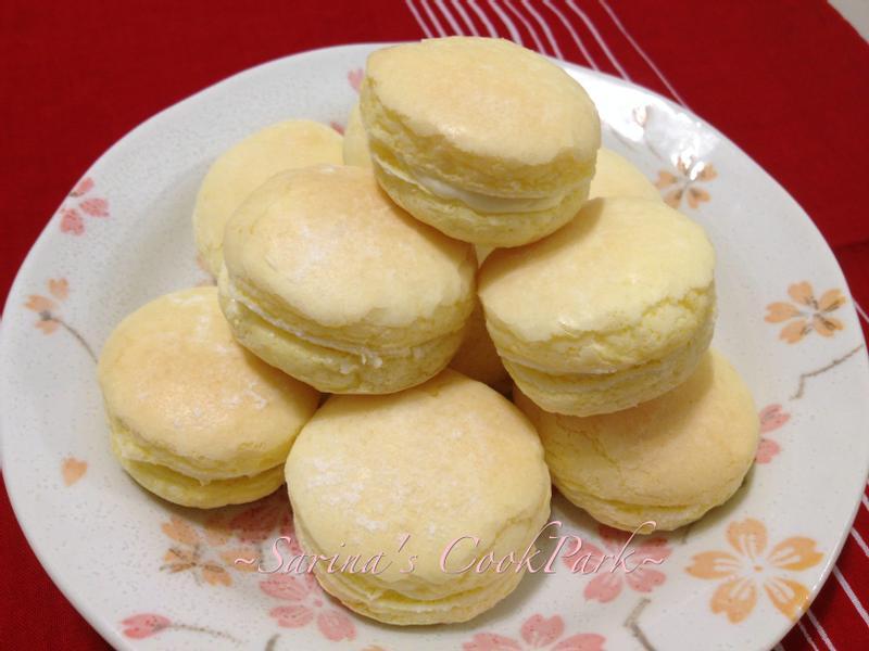蛋黃小西點(牛粒、台式馬卡龍)