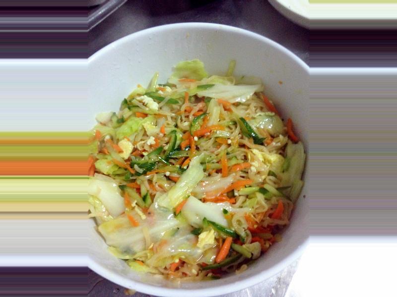 魚露炒泡麵