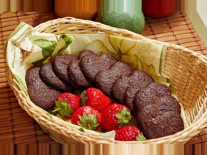 巧克力海鹽餅乾 @188懶人料理