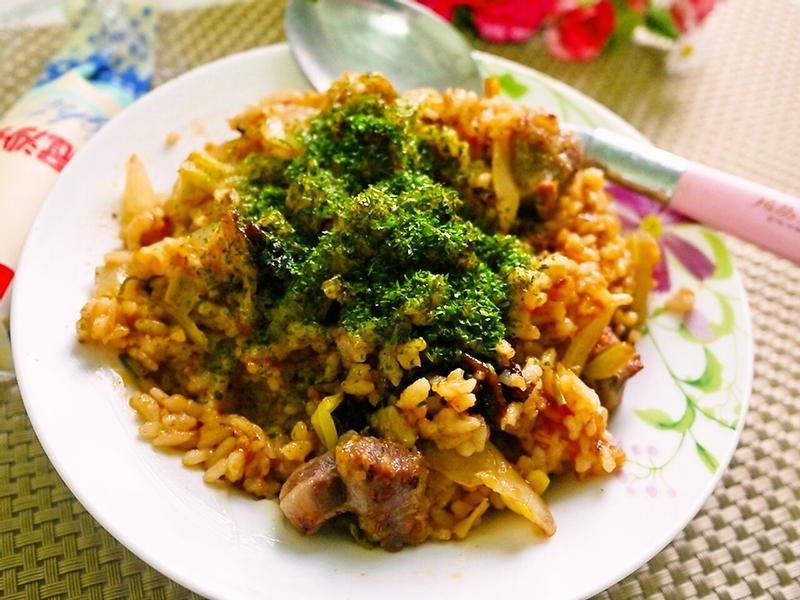 沙拉醬炒飯(美乃滋炒飯)