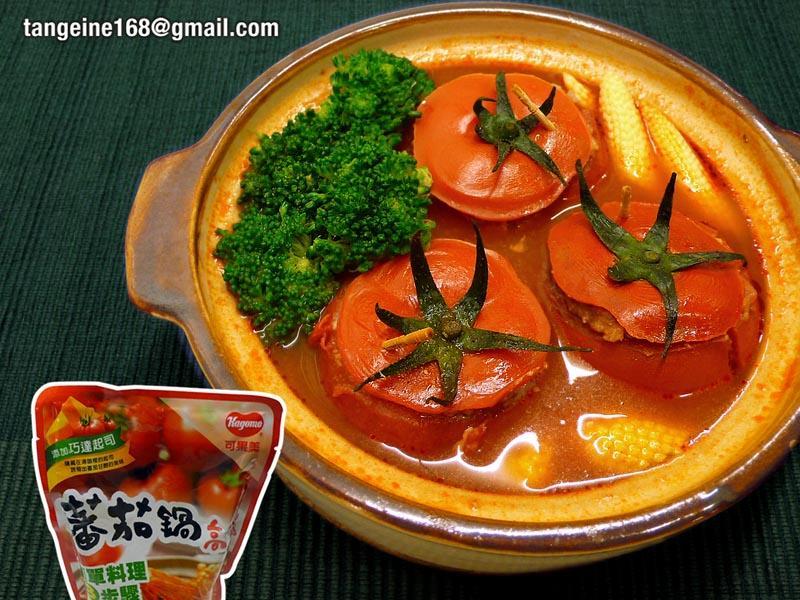 鑲番茄紅運滾滾煲♥可果美番茄鍋/EZ年菜